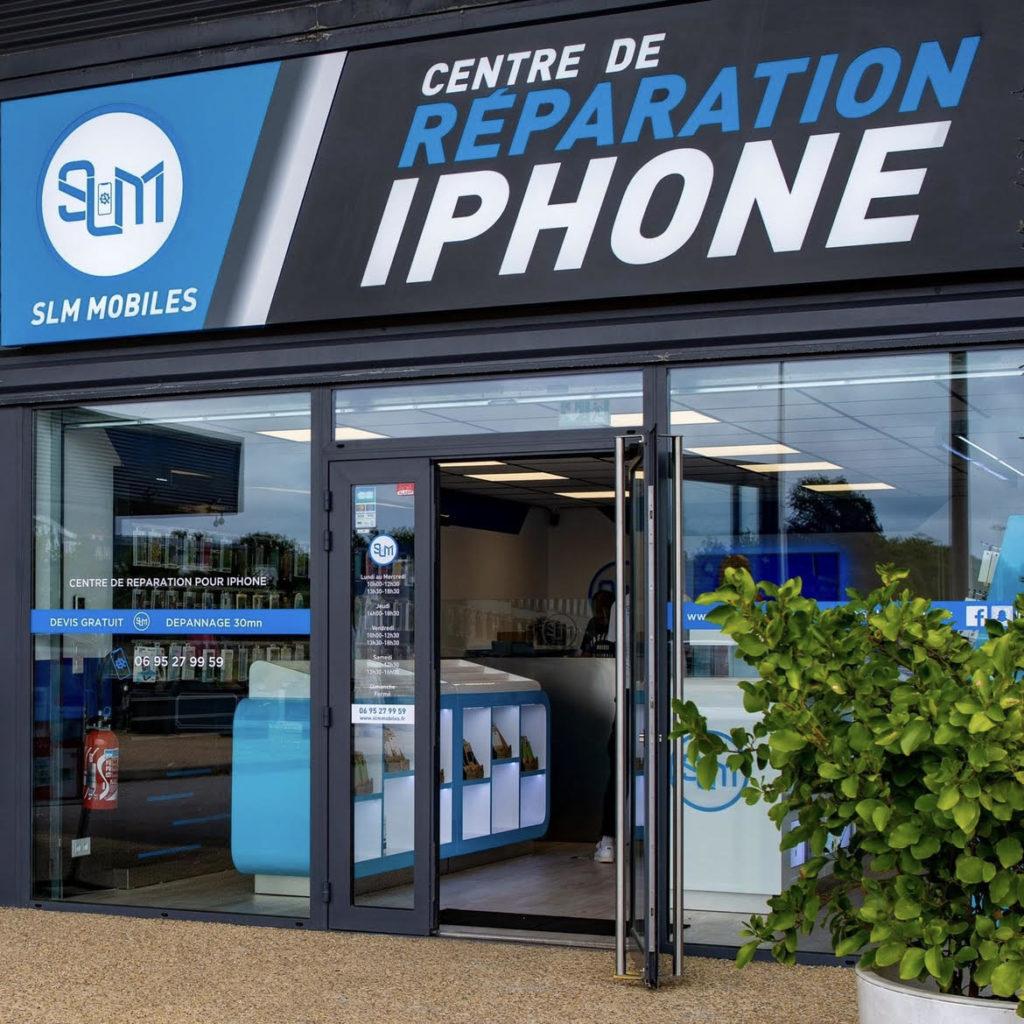 SLM réparateur iPhone Vannes - Morbihan -réparation téléphone